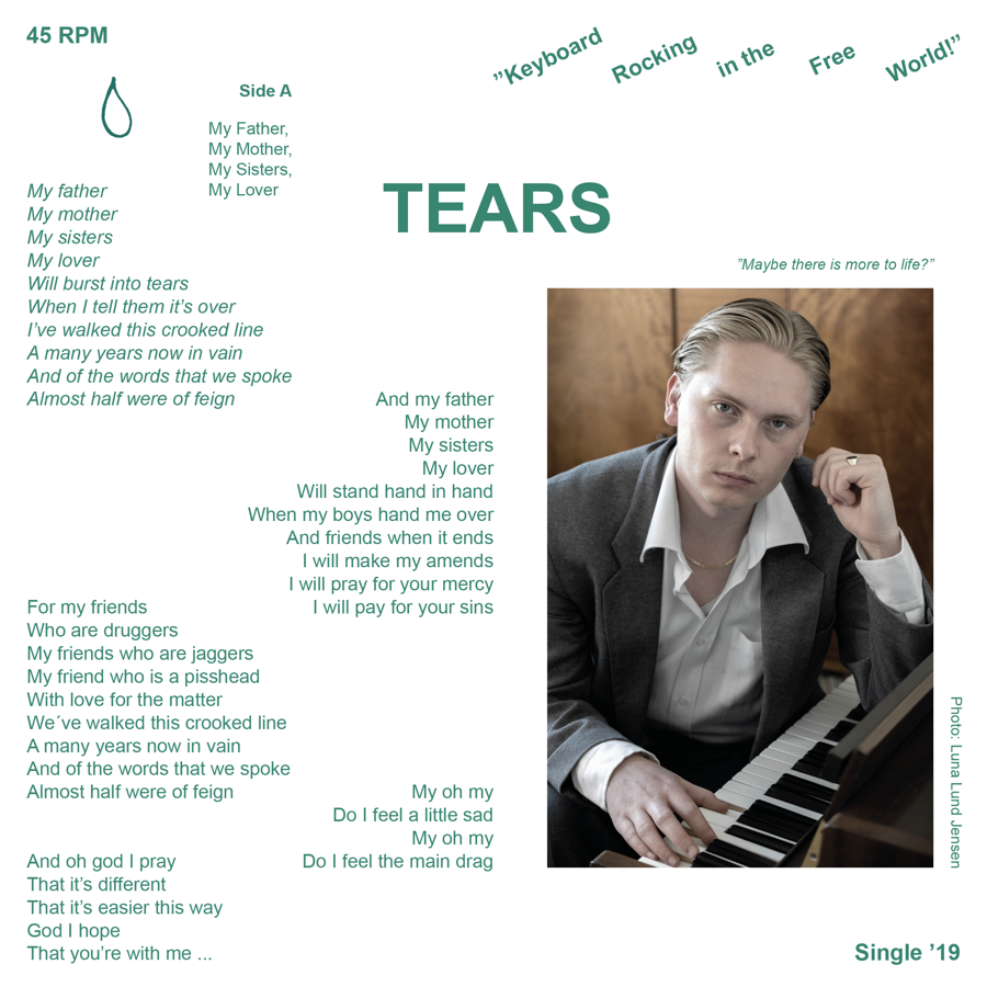 """TEARS -  Single '19 (7"""" Vinyl)"""